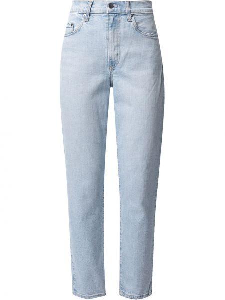 Джинсовые прямые джинсы классические на пуговицах Nobody Denim