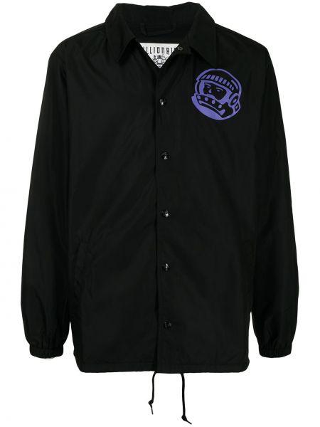 Длинная куртка - черная Billionaire Boys Club