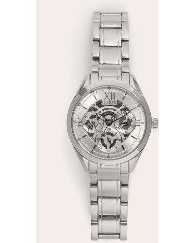 Zegarek kwarcowy srebrny Guess