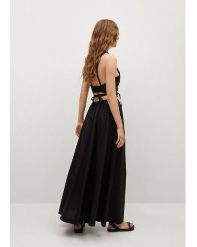 Czarna długa spódnica Mango