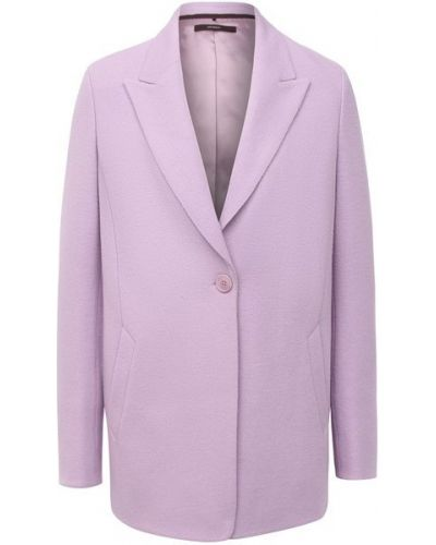 Шерстяной пиджак - фиолетовый Windsor