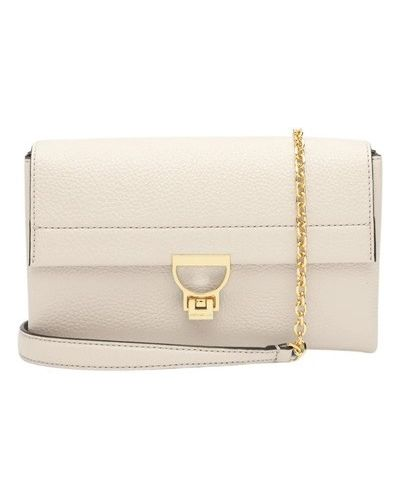 Biała kopertówka elegancka Coccinelle