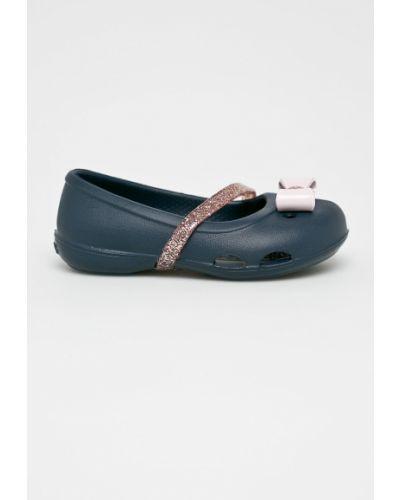 Балетки синий темно-синий Crocs