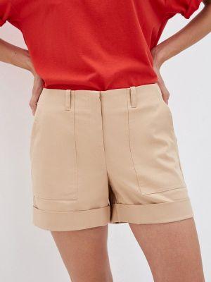 Бежевые повседневные шорты Gloss