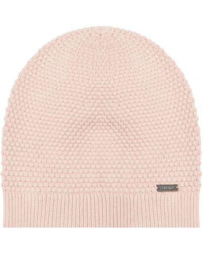 Вязаная шапка бини - бежевая Calvin Klein
