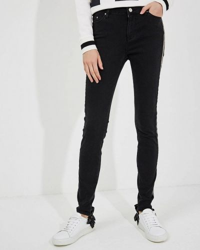 Черные джинсы-скинни Karl Lagerfeld