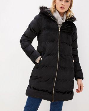 Утепленная куртка демисезонная черная Brave Soul