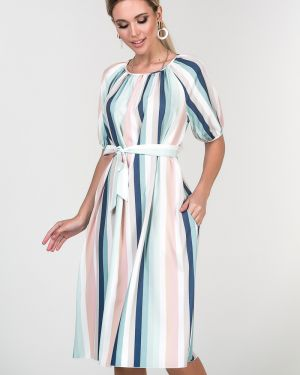 Платье с поясом платье-сарафан с карманами Valentina