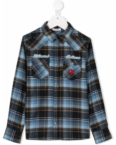 Рубашка черный детский Dolce & Gabbana Kids