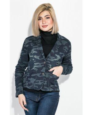 Пиджак милитари - серый Time Of Style