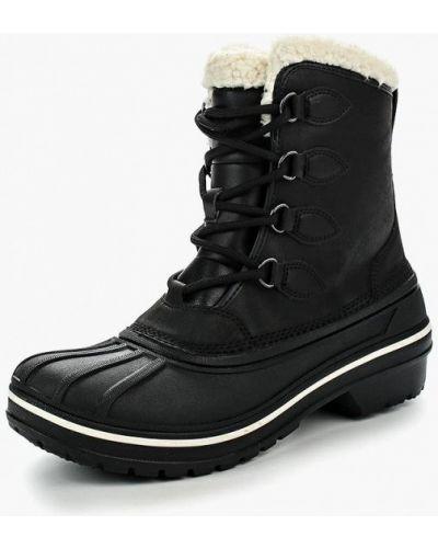 Кожаные ботинки осенние Crocs