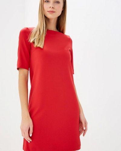 Платье красный осеннее Anrostore