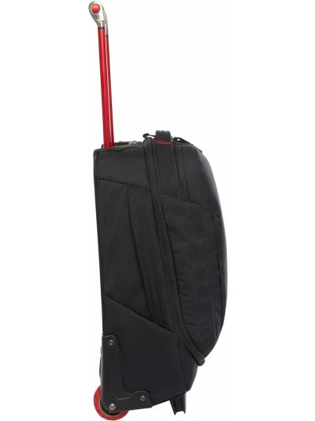 Мягкий черный чемодан на молнии The North Face