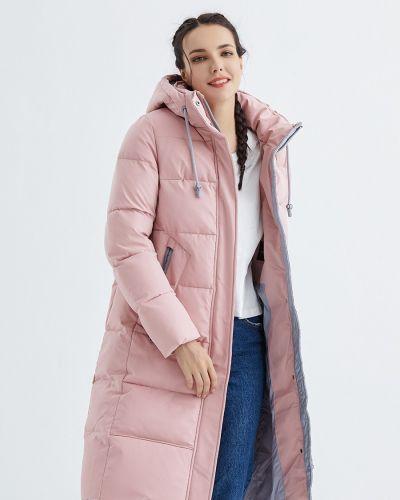 Пуховик классический - розовый Snowimage