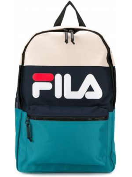 Рюкзак белый темно-синий Fila