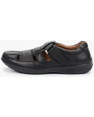 Черные кожаные сандалии Ralf Ringer