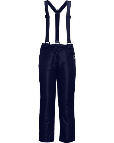Повседневные синие утепленные брюки Button Blue