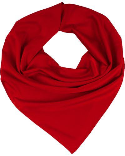 Красный шелковый платок Lorentino