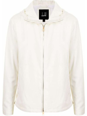 Biała kurtka bawełniana Dunhill