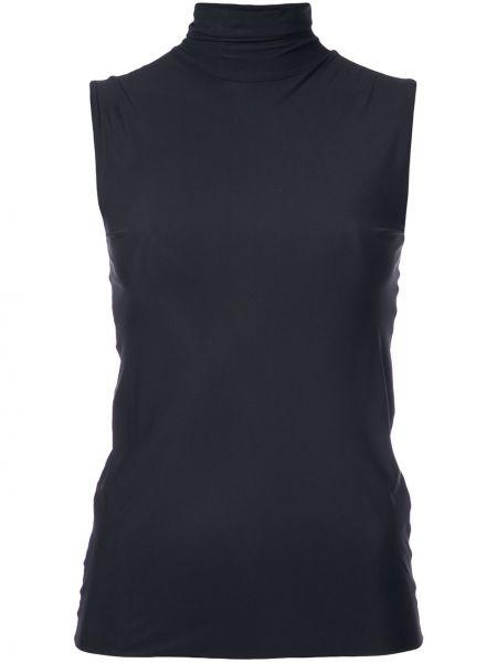 Черный текстильный спортивный топ Dresshirt