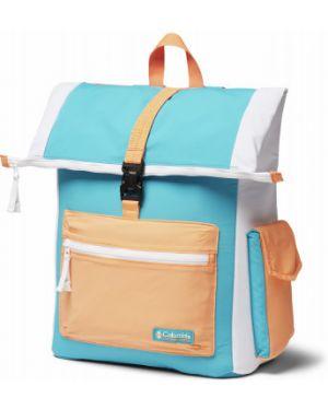 Нейлоновый спортивный синий рюкзак для ноутбука на бретелях Columbia