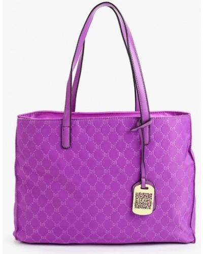 Фиолетовый текстильный брелок Max & Enjoy