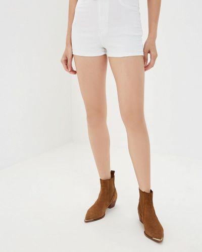 Джинсовые шорты - белые Alcott