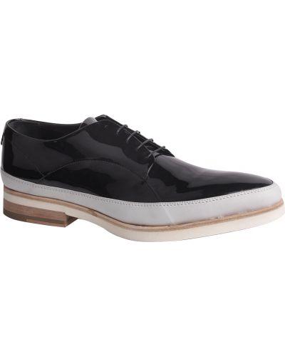 Туфли лаковые черные John Richmond