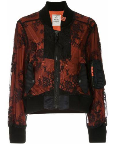 Черная куртка с манжетами Maison Mihara Yasuhiro