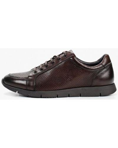 Кожаные ботинки демисезонный коричневый Marco Lippi
