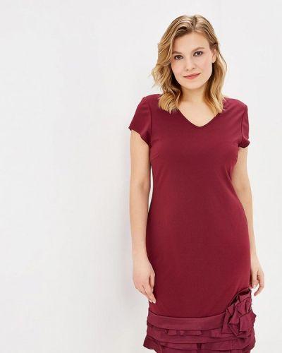 Вечернее платье бордовый красный Zar Style