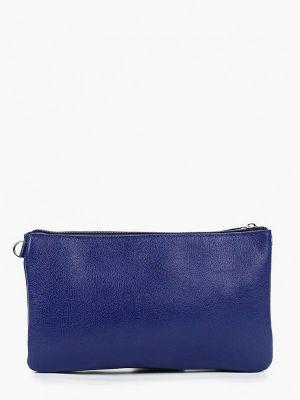 Синяя сумка через плечо летняя Duffy