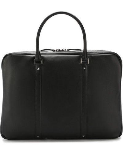 Кожаная сумка для ноутбука Valentino