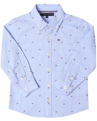 Niebieska koszula oxford Tommy Hilfiger