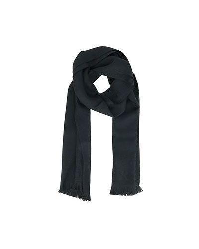 Черный шарф Versace