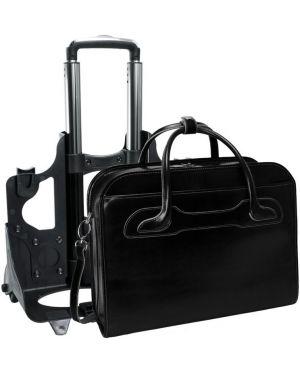 Czarna torebka skórzana elegancka Mcklein