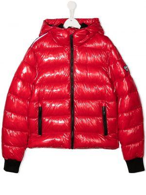 С рукавами классическая куртка с капюшоном на молнии Rossignol Kids