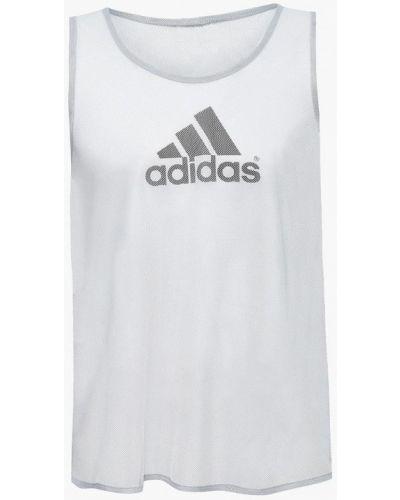 Майка спортивная серая Adidas