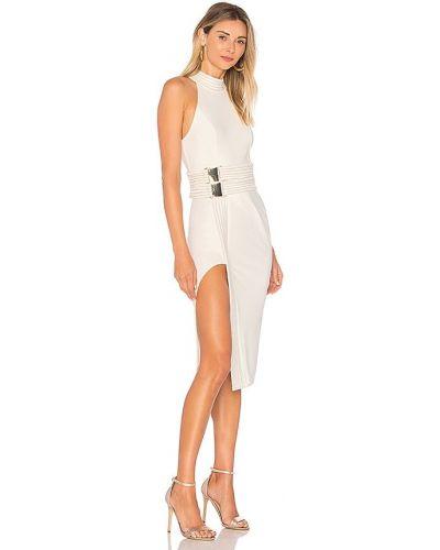 Biała sukienka wieczorowa klamry Zhivago