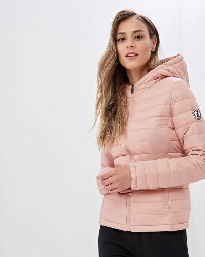 Утепленная куртка - розовая Jennyfer