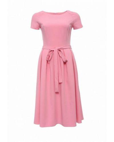 Розовое платье миди Trendyangel