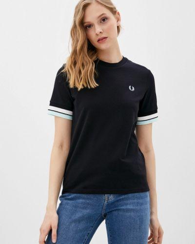 Черная футболка с короткими рукавами Fred Perry