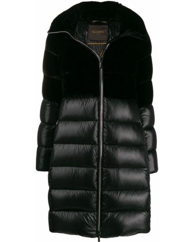 Черная куртка Moorer