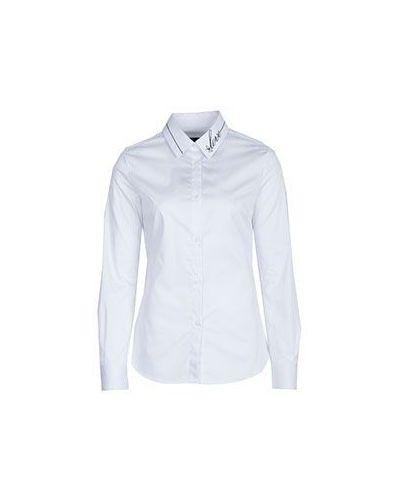 Классическая рубашка приталенная хлопковая Moschino Love