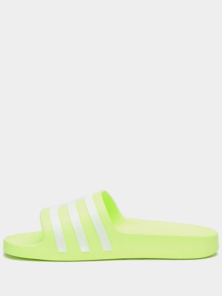 Мягкие желтые шлепанцы Adidas