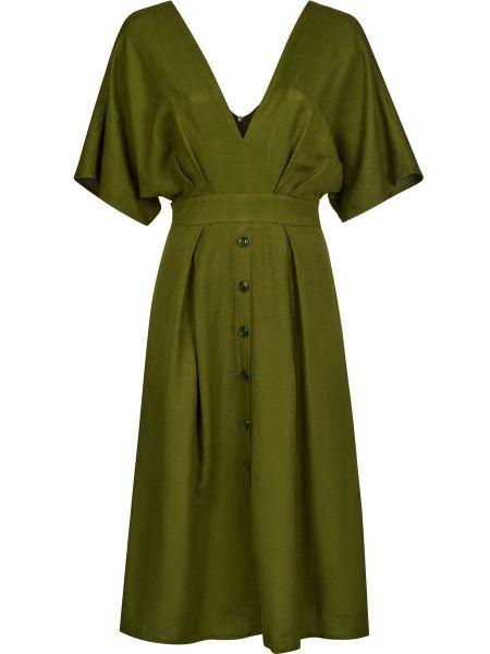 Зеленое платье Silvian Heach