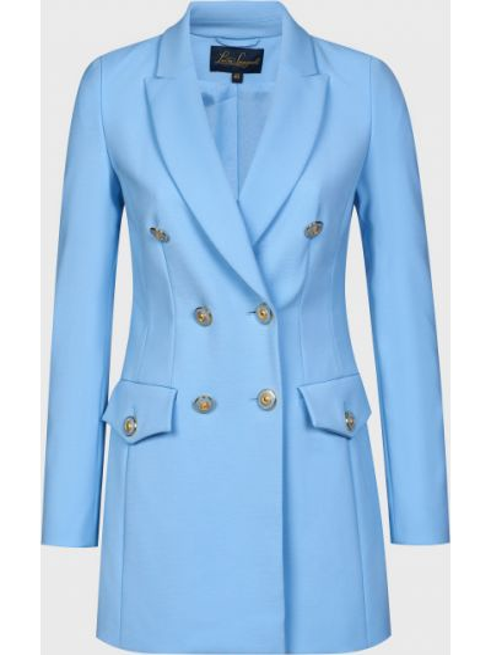 Пиджак на пуговицах - голубой Luisa Spagnoli