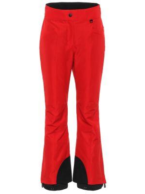 Теплые расклешенные брюки Moncler Grenoble