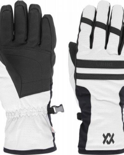 Белые перчатки из полиэстера VÖlkl