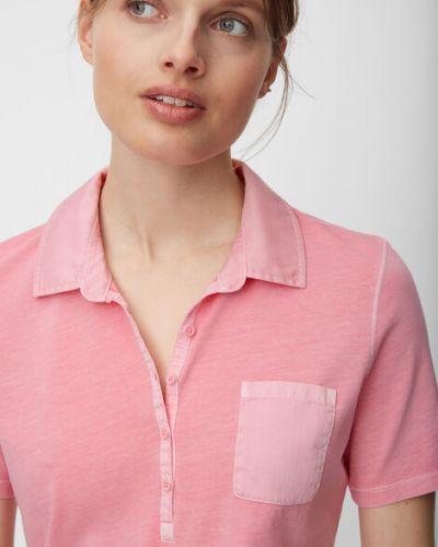 T-shirt materiałowa - czerwona Marc O Polo